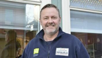 ØKNING: Malerbedriften Ragnvald Moe får stadig flere henvendelser angående brannhemmende maling, forteller byggtapetsermester og driftsleder håndverk Lars-Arve Kronborg hos Ragnvald Moe AS.