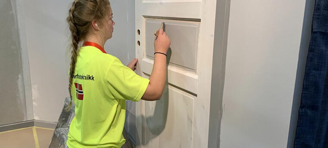 Flere jenter vil jobbe i malerbransjen