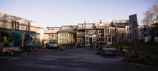 Unikt rekkehus på Svartlamoen