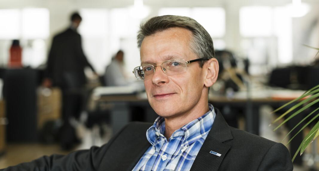 IKKE LIKE BILLIG: Selv om prisene går ned, kommer ikke trelast til å bli like billig som før oppgangen, ifølge Johan Freij.