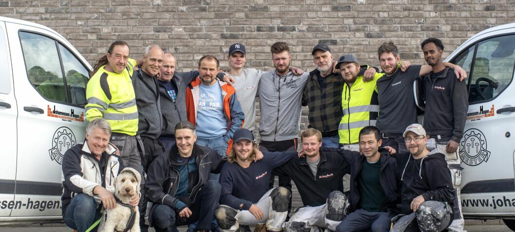 Håndverksgruppen styrkes med tre nye selskaper